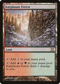 Karplusan Forest, Magic, 10th Edition