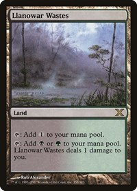 Llanowar Wastes, Magic: The Gathering, 10th Edition