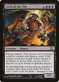 Lord of the Pit, Magic: The Gathering, 10th Edition