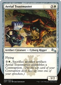 Aerial Toastmaster, Magic: The Gathering, Unstable