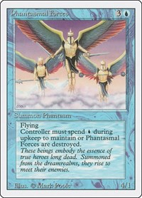 Phantasmal Forces, Magic: The Gathering, Revised Edition