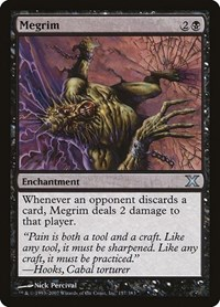 Megrim, Magic: The Gathering, 10th Edition