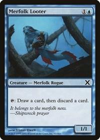 Merfolk Looter, Magic: The Gathering, 10th Edition