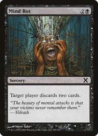 Mind Rot, Magic: The Gathering, 10th Edition