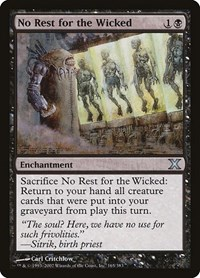 No Rest for the Wicked (Foil)