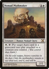 Nomad Mythmaker, Magic: The Gathering, 10th Edition