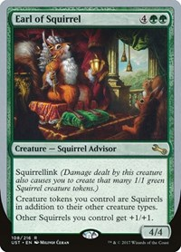 Earl of Squirrel, Magic: The Gathering, Unstable