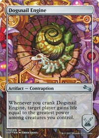 Dogsnail Engine, Magic: The Gathering, Unstable