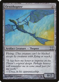Ornithopter, Magic: The Gathering, 10th Edition