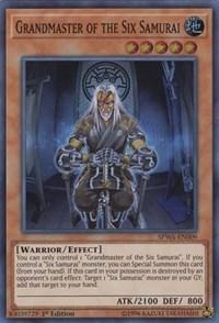 Grandmaster of the Six Samurai, YuGiOh, Spirit Warriors