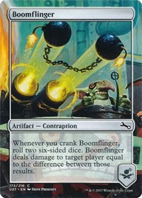 Boomflinger, Magic: The Gathering, Unstable