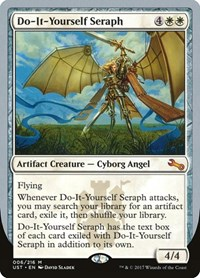 Do-It-Yourself Seraph, Magic: The Gathering, Unstable