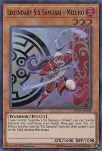 Legendary Six Samurai - Mizuho, YuGiOh, Spirit Warriors