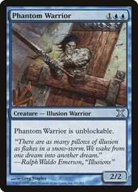 Phantom Warrior, Magic: The Gathering, 10th Edition