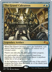 The Grand Calcutron, Magic: The Gathering, Unstable