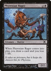 Phyrexian Rager, Magic: The Gathering, 10th Edition