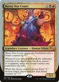 Baron Von Count, Magic: The Gathering, Unstable