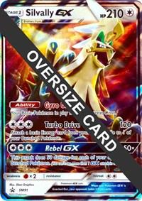 Silvally GX - SM91 (SM Black Star Promo), Pokemon, Jumbo Cards