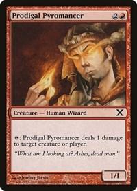 Prodigal Pyromancer, Magic: The Gathering, 10th Edition
