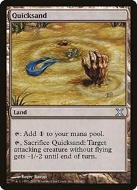 Quicksand, Magic: The Gathering, 10th Edition