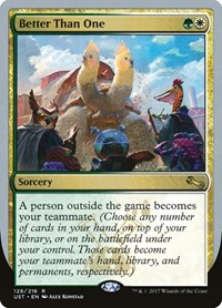 Better Than One, Magic: The Gathering, Unstable
