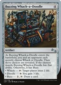 Buzzing Whack-a-Doodle, Magic: The Gathering, Unstable