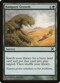 Rampant Growth, Magic: The Gathering, 10th Edition