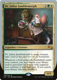 Dr. Julius Jumblemorph, Magic: The Gathering, Unstable