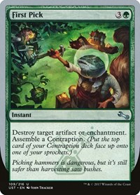 First Pick, Magic: The Gathering, Unstable