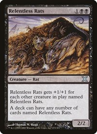 Relentless Rats, Magic, 10th Edition