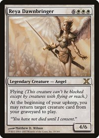 Reya Dawnbringer, Magic: The Gathering, 10th Edition
