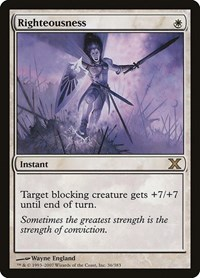 Righteousness, Magic: The Gathering, 10th Edition