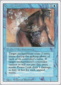 Power Leak, Magic: The Gathering, Revised Edition