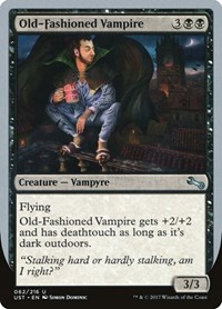 Old-Fashioned Vampire, Magic, Unstable