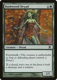 Rushwood Dryad, Magic, 10th Edition