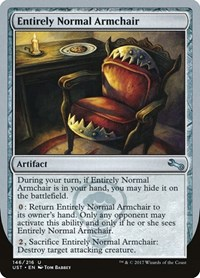 Entirely Normal Armchair, Magic: The Gathering, Unstable