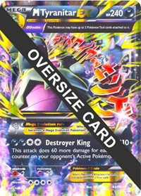 M Tyranitar EX - 43 (Ancient Origins), Pokemon, Jumbo Cards
