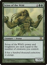 Scion of the Wild, Magic: The Gathering, 10th Edition