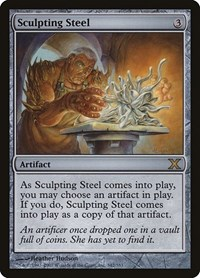 Sculpting Steel (Foil)