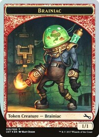 Brainiac Token, Magic: The Gathering, Unstable