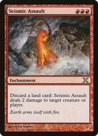 Seismic Assault, Magic: The Gathering, 10th Edition