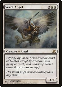 Serra Angel, Magic: The Gathering, 10th Edition
