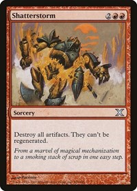 Shatterstorm, Magic: The Gathering, 10th Edition