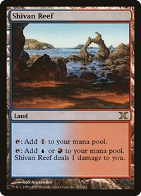 Shivan Reef, Magic: The Gathering, 10th Edition