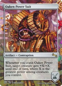 Oaken Power Suit, Magic, Unstable