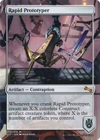 Rapid Prototyper, Magic, Unstable
