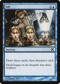 Sift, Magic: The Gathering, 10th Edition