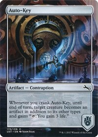 Auto-Key, Magic: The Gathering, Unstable