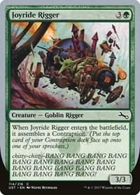 Joyride Rigger, Magic, Unstable