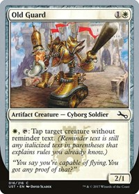 Old Guard, Magic: The Gathering, Unstable